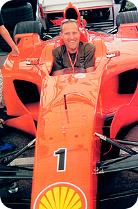 David Booth - Excercise and Nutritional Coach to the Ferrari 360 Racing Team